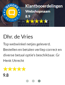 Webwinkel reviews en beoordelingen widget