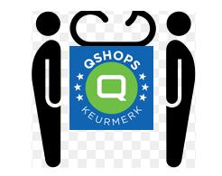 Wij zijn aangesloten bij Qshops keurmerk